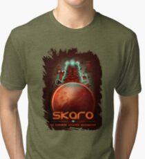 Travel To... Skaro! Tri-blend T-Shirt