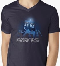 The Angels Have the Phone Box Men's V-Neck T-Shirt