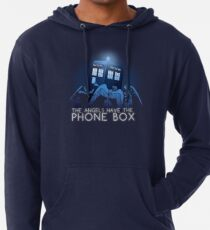 The Angels Have the Phone Box Lightweight Hoodie