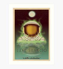 Travel To...  Lake Silencio Art Print