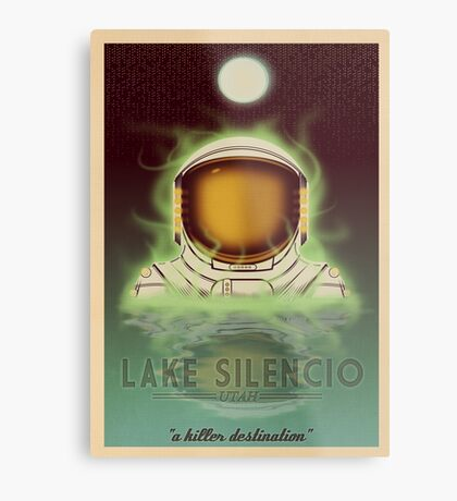 Travel To...  Lake Silencio Metal Print