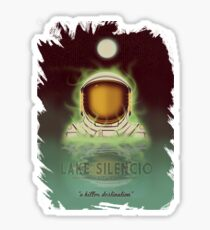 Travel To...  Lake Silencio Sticker