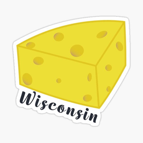 Wisconsin cheese Sticker