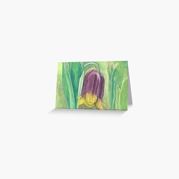Turk flower Greeting Card