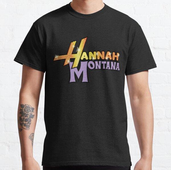 Logotipo de Hannah Montana Camiseta clásica