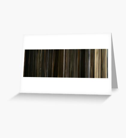 Moviebarcode: The Fountain (2006) Greeting Card