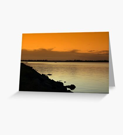 Another lovely evening.......... Greeting Card
