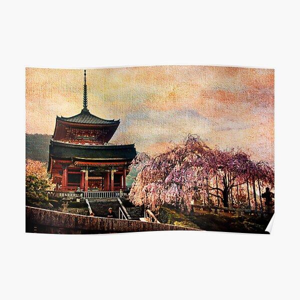 Kiyomuzu-dera,  Kyoto Poster