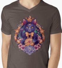 Maneki Luna Men's V-Neck T-Shirt
