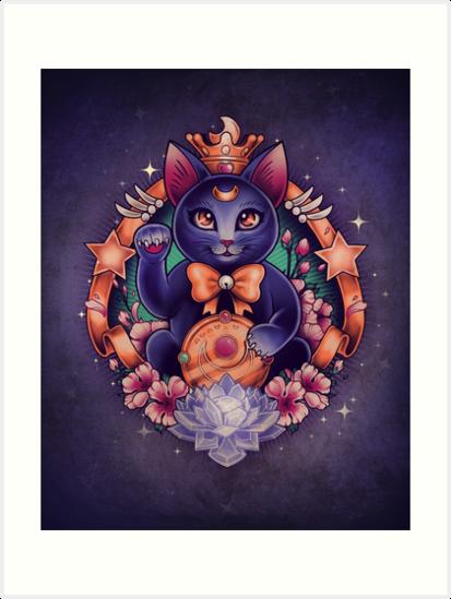 Maneki Luna by MeganLara
