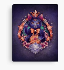 Maneki Luna Canvas Print