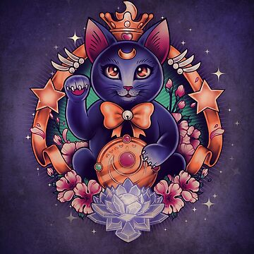 Maneki Luna by MeganLara
