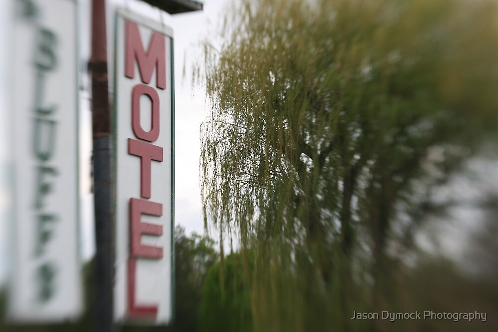 Nowhere Motel by Jason Dymock Photography