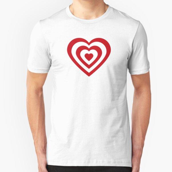 Love Target Slim Fit T-Shirt