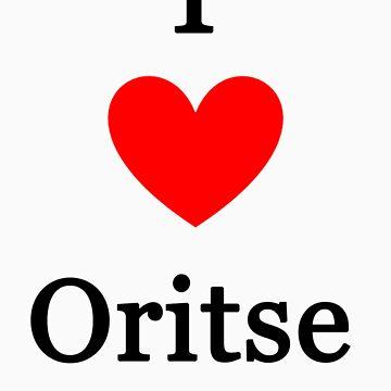 I love Oritse by meldevere