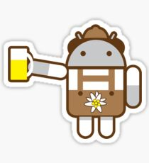 DAS DROID Sticker