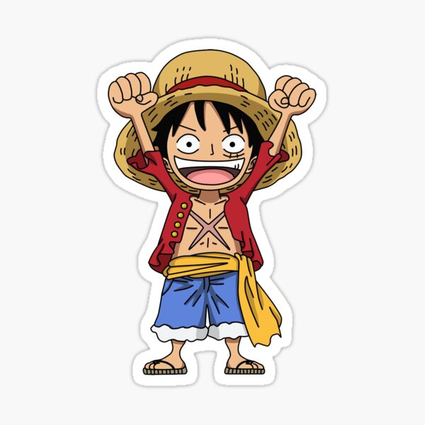Luffy One Piece  Sticker