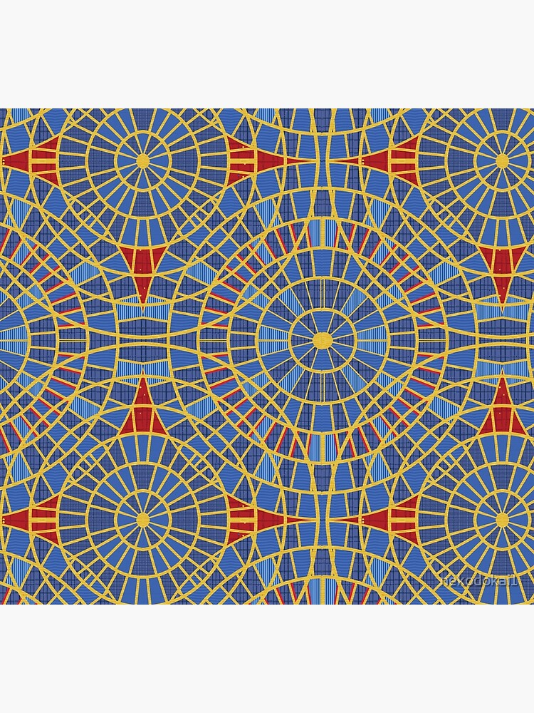 DragonCon carpet: Marriot with details, zoom by nekodokai1