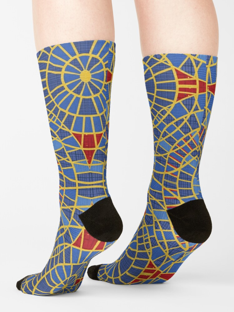 Alternate view of DragonCon carpet: Marriot with details, zoom Socks