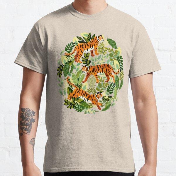 Bright Bangel Tiger Jungle  Classic T-Shirt