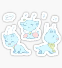 baby aishas Sticker
