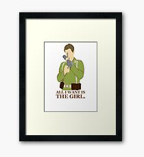 """Indiana Jones - """"All I Want is the Girl"""" Framed Print"""