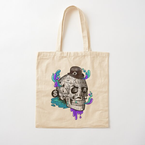 The Tattooed Gentleman Cotton Tote Bag
