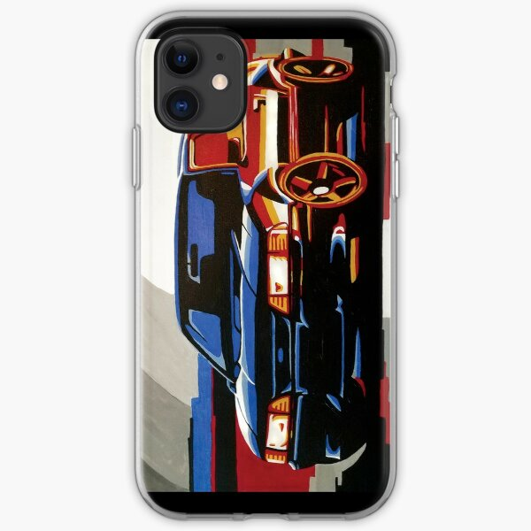 Fox Body Ford Mustang Painting iPhone Soft Case