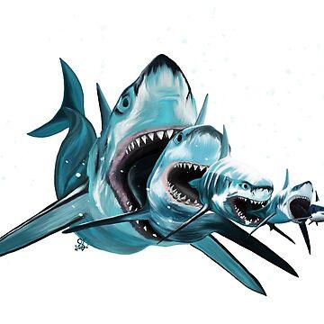 Sharkioska (2) by ciaca