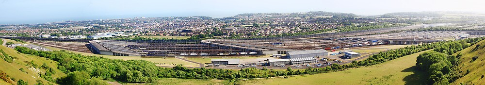 Channel Tunnel Rail Link  by Dave Godden