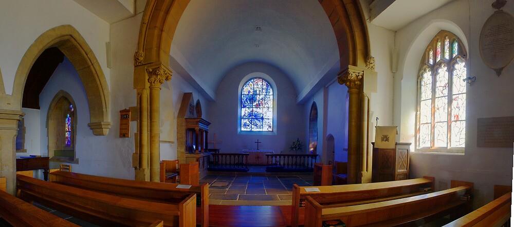 All Saints Church, Tudeley by Dave Godden