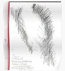 copy sculpture foot -(230511)- pencil/A4 drawing pad Poster