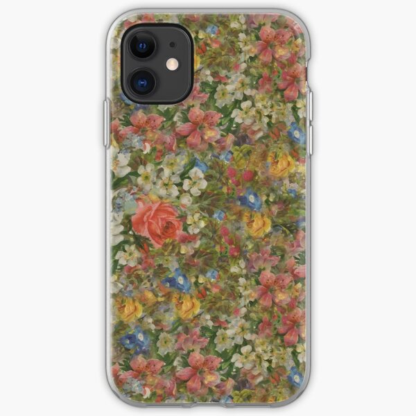 Pretty. Odd. Flowers Painting iPhone Soft Case