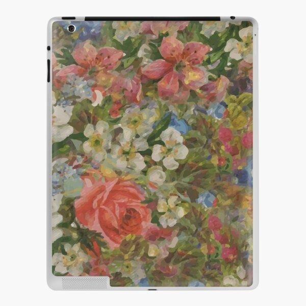 Pretty. Odd. Flowers Painting iPad Skin