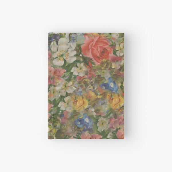 Pretty. Odd. Flowers Painting Hardcover Journal