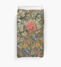 Pretty. Odd. Flowers Painting Duvet Cover