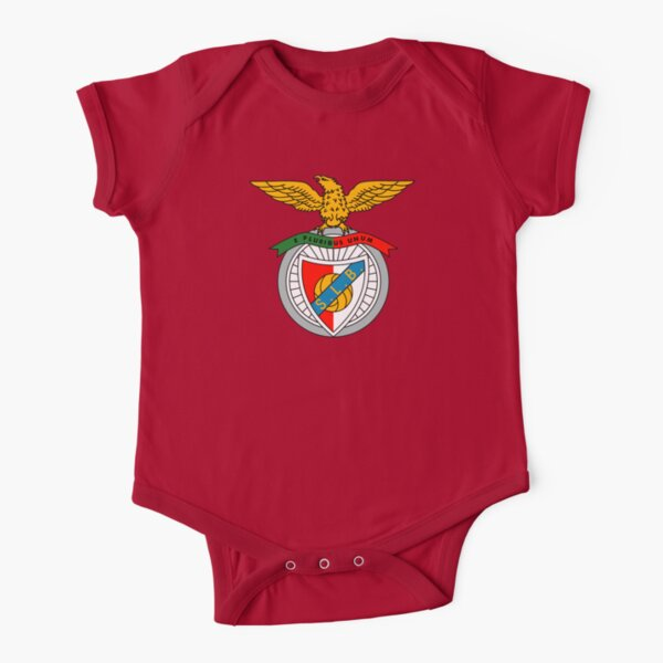 SL Benfica Short Sleeve Baby One-Piece