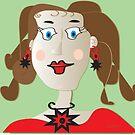 Just a paper doll... by IrisGelbart