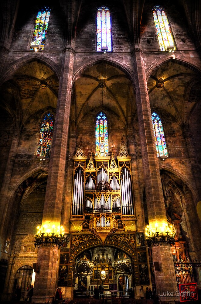 Palma Cathedral Pipe Organ by Luke Griffin
