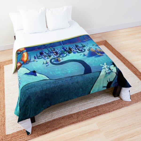 Spongebob Squarepants Bikini Bottom Comforter
