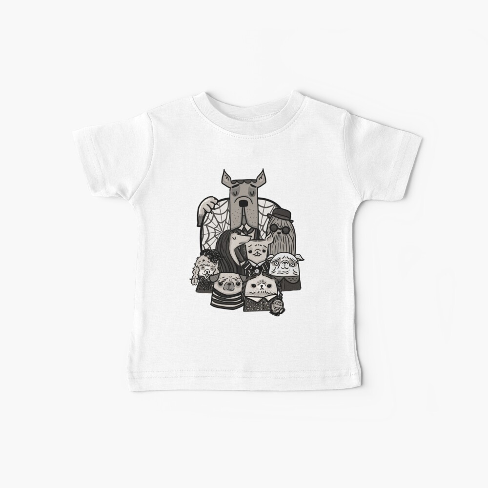 The Addams Family Baby T-Shirt