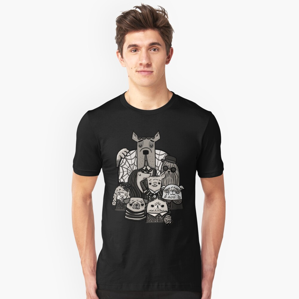 The Addams Family Slim Fit T-Shirt