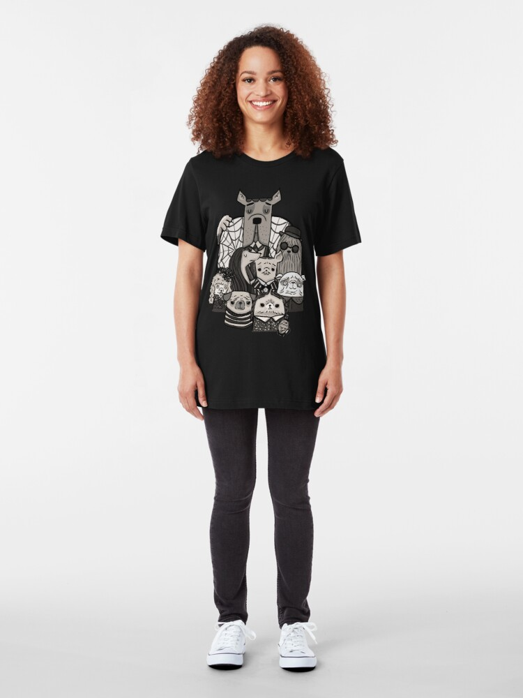 Alternate view of The Addams Family Slim Fit T-Shirt