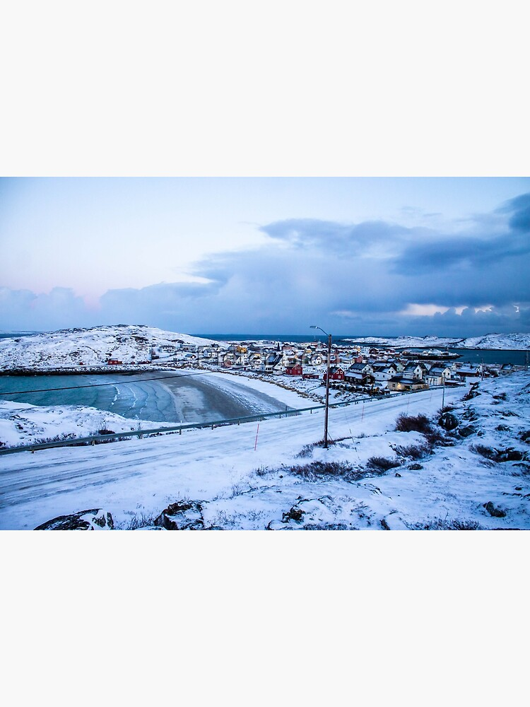 Bugøynes, Norway - Small fishing town at the arctic sea by Piedro92
