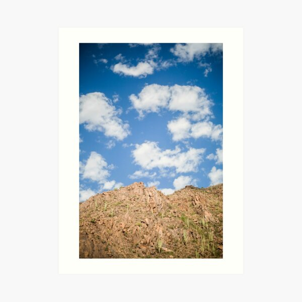 The Mountains That Surround Us Art Print