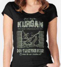 Kurgan Home Demolition Women's Fitted Scoop T-Shirt