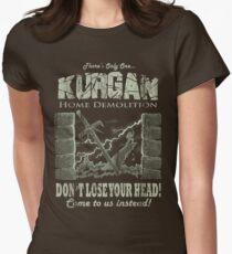 Kurgan Home Demolition Womens Fitted T-Shirt