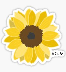 Harry's Sunflower Sticker