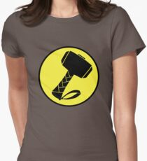 Captain Mjolinir- Everyone's hero! Womens Fitted T-Shirt