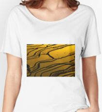 Yuanyang Terraced rice field 4 Women's Relaxed Fit T-Shirt